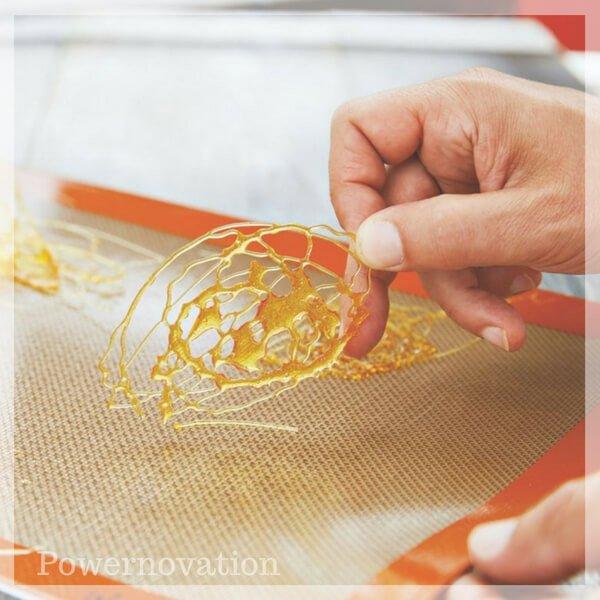 Feuille de cuisson fibre de verre